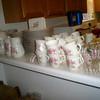 Huge Set of Rose Dishes
