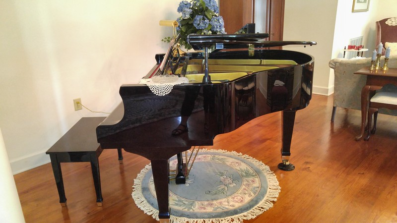Beautiful Wurlitzer Baby Grand Piano