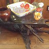 beautiful handmade table driftwood base
