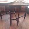 Early gate leg spindle table