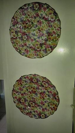 Chintz Plates England