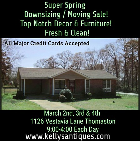 Super Spring  Downsizing Sale! Top Notch Decor & Furniture! Fresh & Clean!