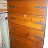 Men's handmade Chest of Drawers with dividers