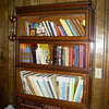 Awesome Antique Oak Barrister's Book Case