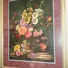 Large floral framed pint 35.00