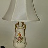 Pair of vintage floral lamps 50.00