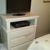 New White Entertainment Center with drawers 85.00