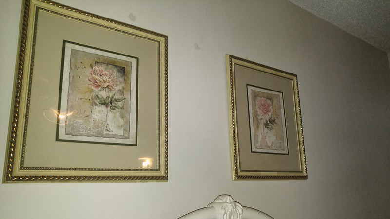 Pair of Rose pictures 35.00