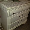 New white 3 drawer dresser 85.00 very nice