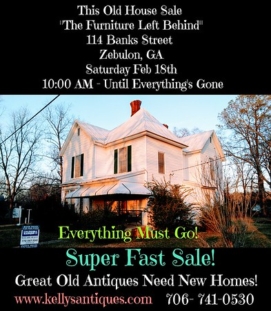 """This Old House Sale """" The Furniture & Treasures They Left Behind"""""""