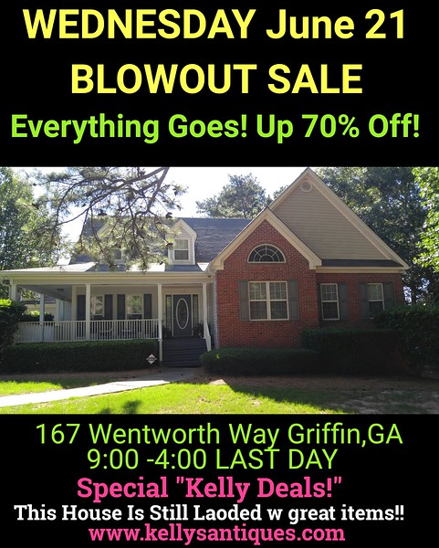 Wednesday Blowout Sale June 21st Up To 70% Off!