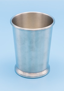 "WEB - PEWTER EARLY AMERICAN  - CUP - 3 1/4"" W X 4 1/8"" H"