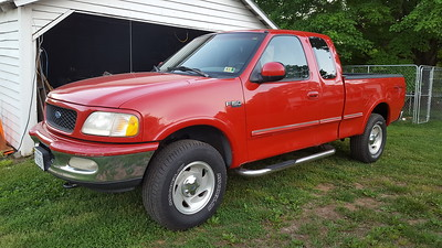 1997 Ford F-150XLT extended cab pickup
