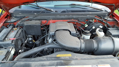 1997 Ford F-150XLT extended cab pickup with Triton 4.5L V8 engine