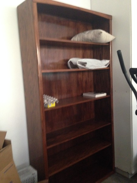 SOLID HEAVY Wood Bookcase