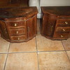 2 Moroccan Tables  -  wood - $250 - $400/both