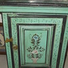 """Green Side Table  - 20""""-wide x 12""""-deep x 26""""-tall  =  $300"""