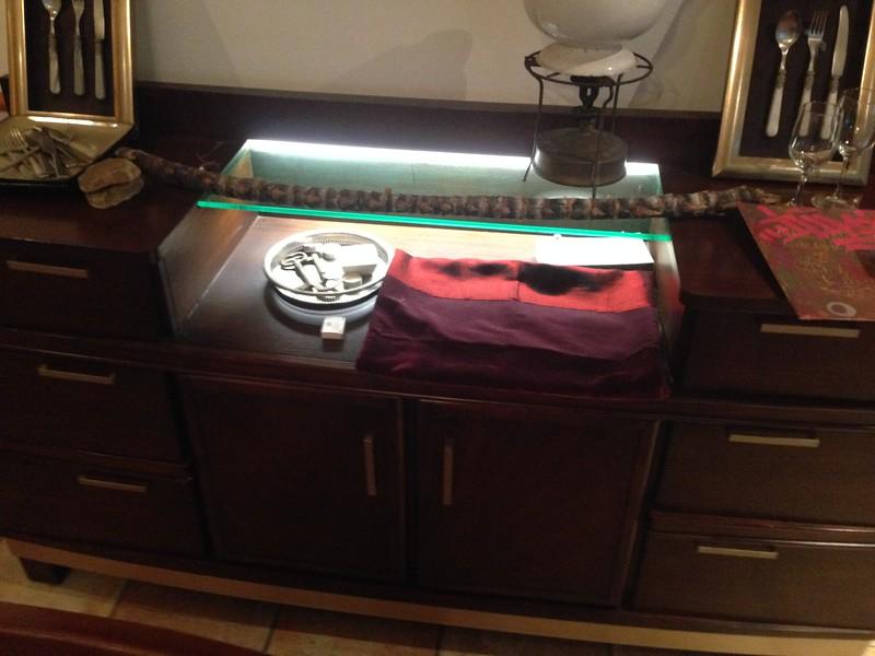 """BUFFET (lighted) - 73""""-w x 18-1/2""""-d - $2,500"""