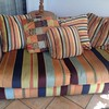 FUNKY 70's style LOVE SEAT  =  $250