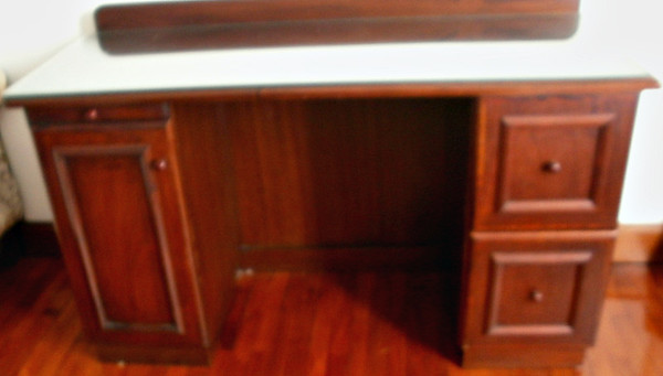 DESK with Glass Top  =  $200