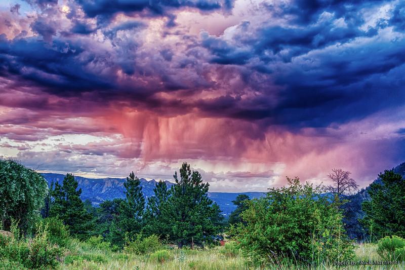 Estes Park Land and Sky Photos