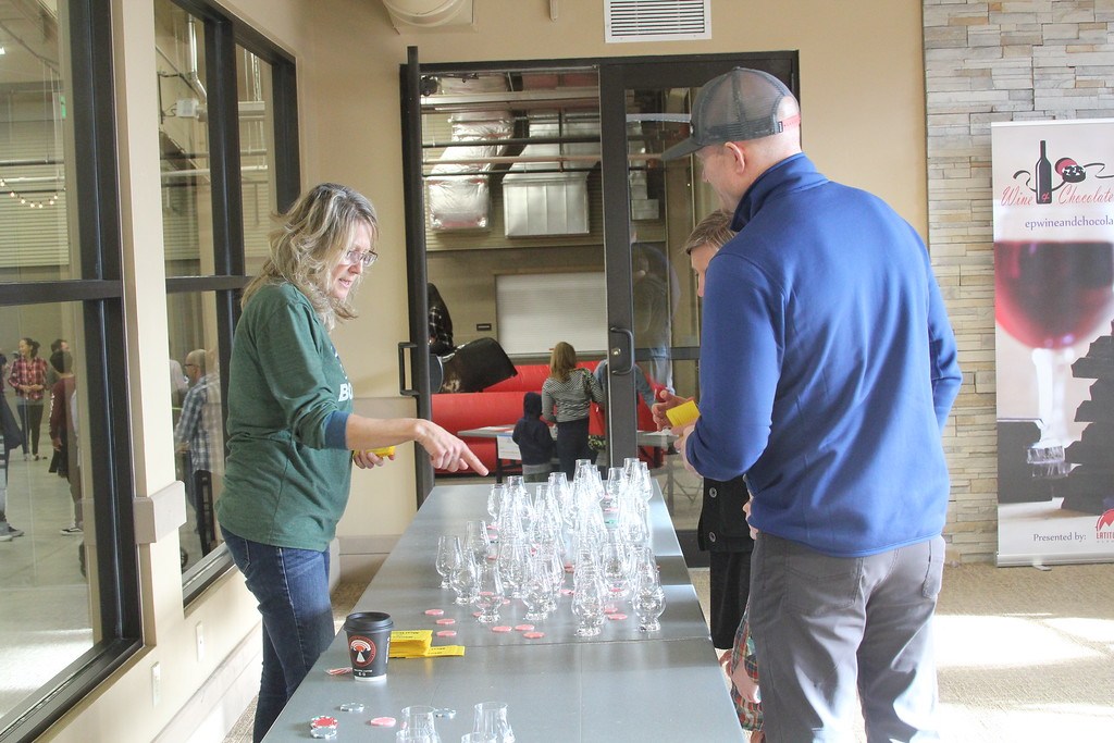 . Estes Park Winter Festival 2019 Festival attendees got to sample a variety of local brews and spirits and vote for their favorites Photo by Claire Woodcock