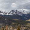 Pano at Rainbow Curve. Trail Ridge Road was still closed from this point on.