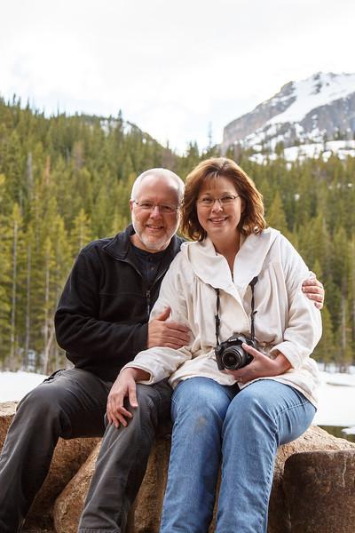 Me and my gal at Bear Lake