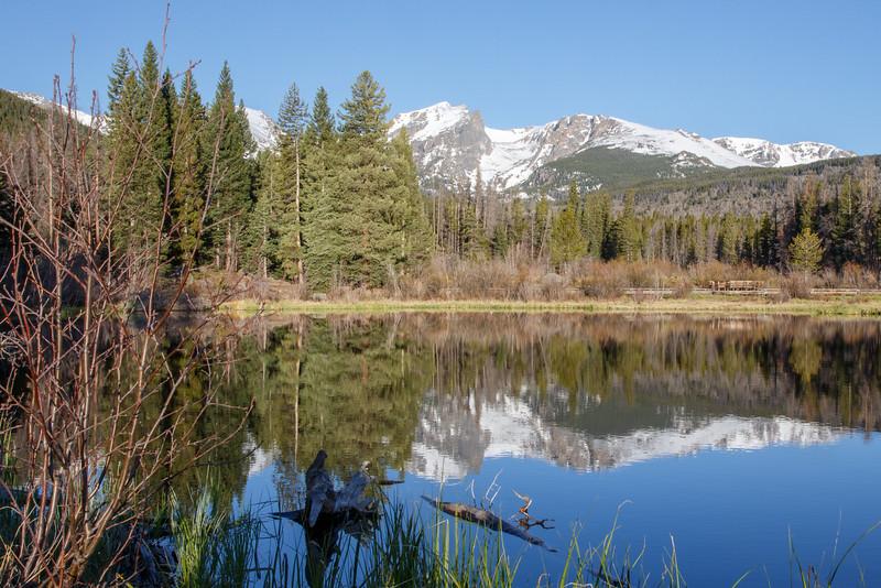 Reflection at Sprague Lake