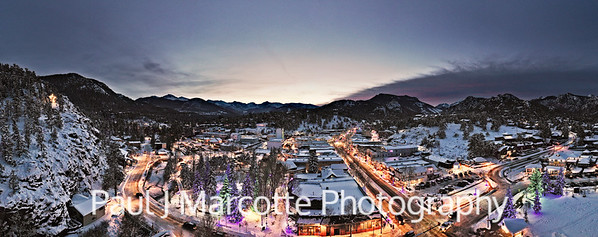 Christmas town  (Estes Park)
