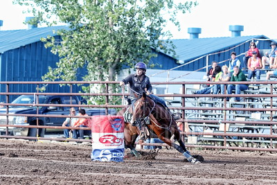 Estevan TTRT Barrel Racing 2015