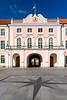 The Estonian Parliament buildings in Tallinn, Estonia.