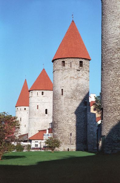 Murallas ciudad vieja de Tallinn