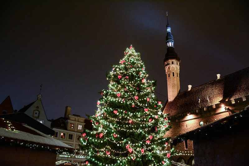 christmas tallinn estonia