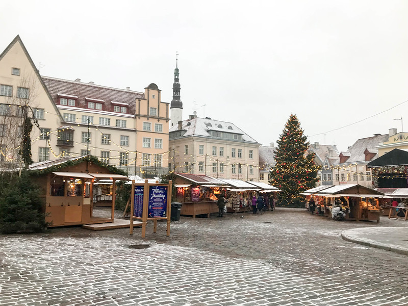 christmas in tallinn estonia