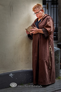 A Monk in Solice in Riga