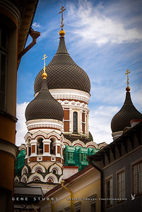 Alexander Nevsky Orthodox Cathedral in Tallin Estonia