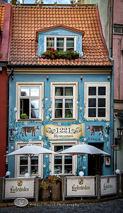 An Old Restaruant in Riga