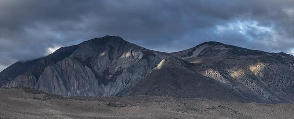Mountain Peak Along Eastern Sierra - P1