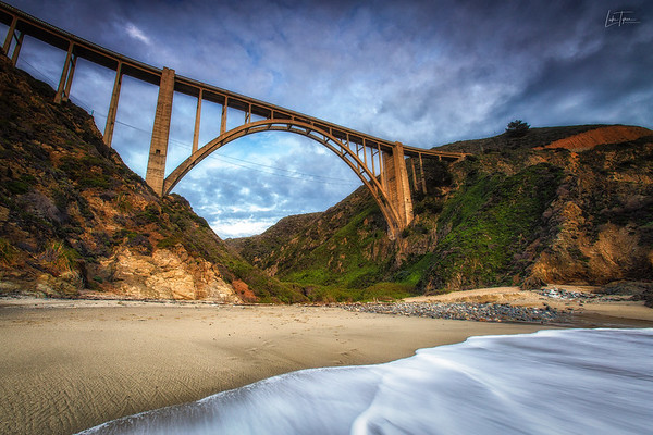 Belly of the Beast // Bixby Canyon Bridge, Big Sur, CA.