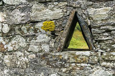 Lichen triangle, Kerrera
