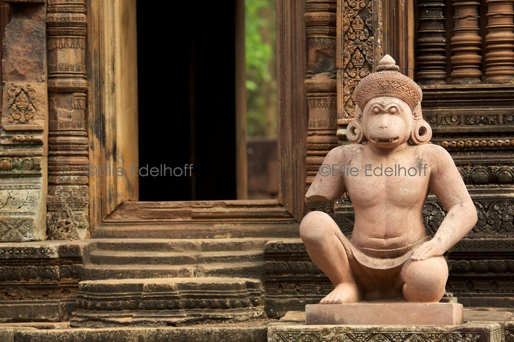 Guarding Banteay Srei I – Cambodia