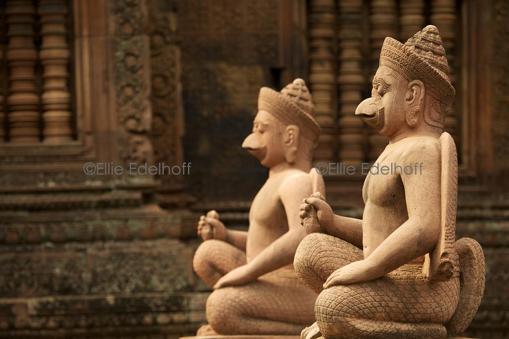 Guarding Banteay Srei II – Cambodia