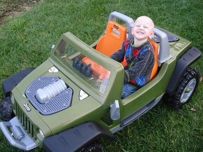 Quinn's Jeep Hurricane
