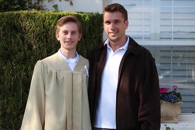 Ethan's WRHS Graduation