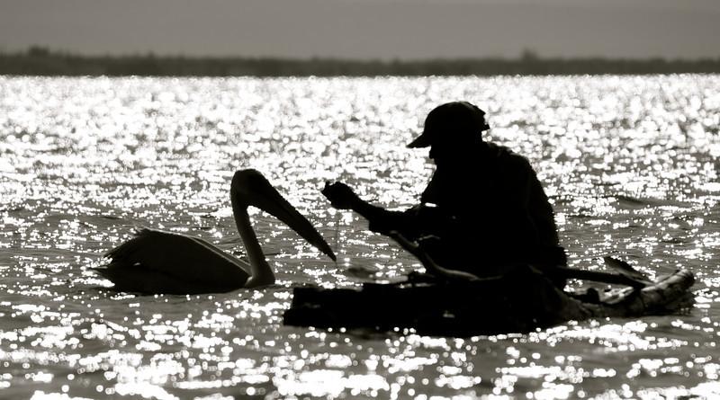 Fisherman and friend