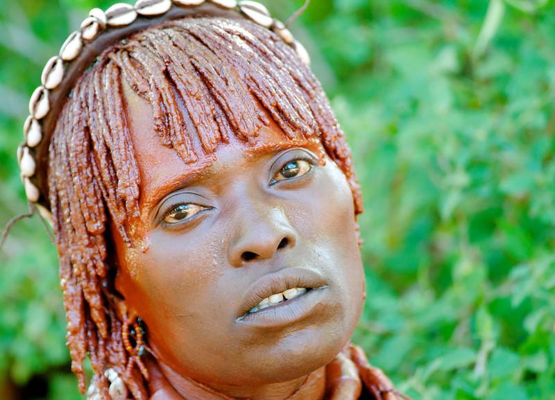 Hamar tribeswoman