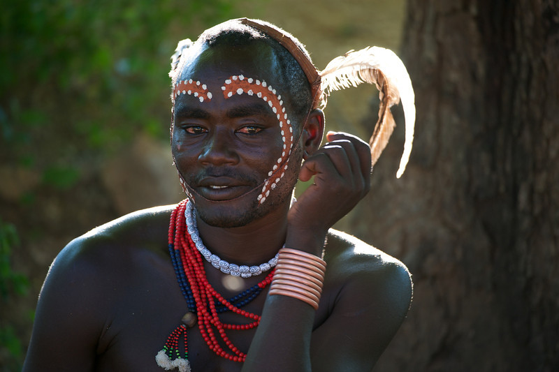 Hamar tribesman