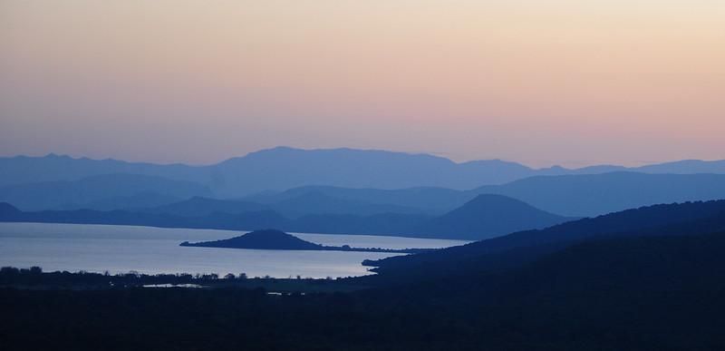 Lake Abaya from Paradise Lodge, Arba Minch