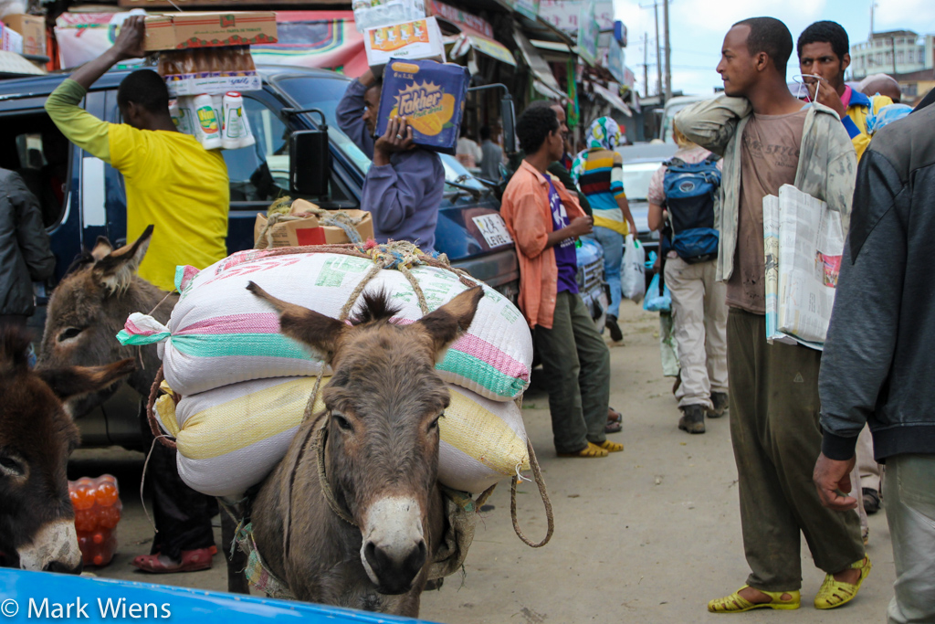 Market in Ethiopia